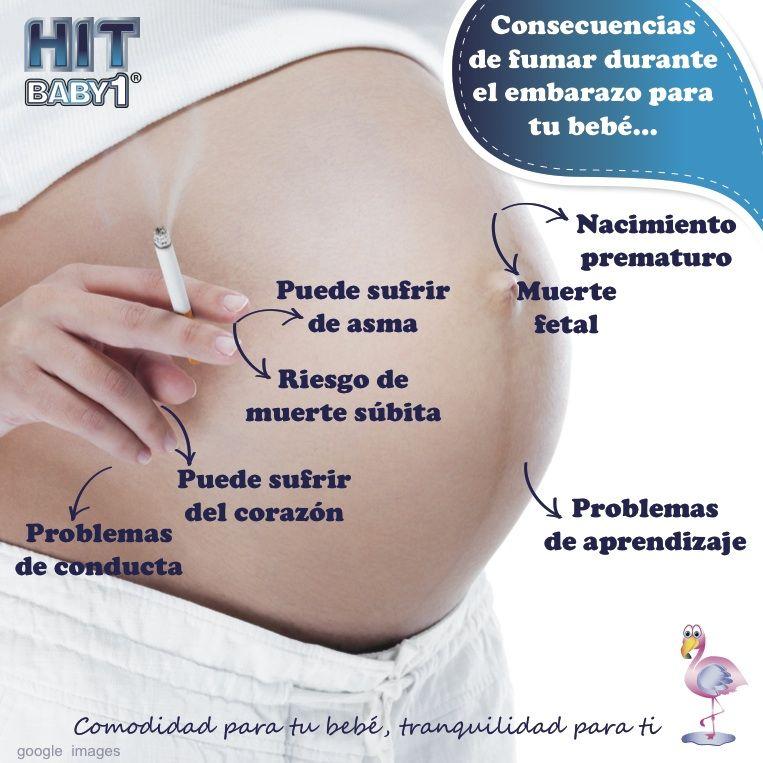 dejar de fumar durante el embarazo consecuencias