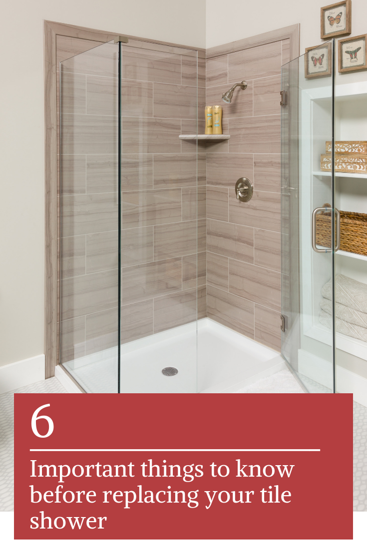 6 Things You Shouldn't Do When Replacing Your Tile Shower ...
