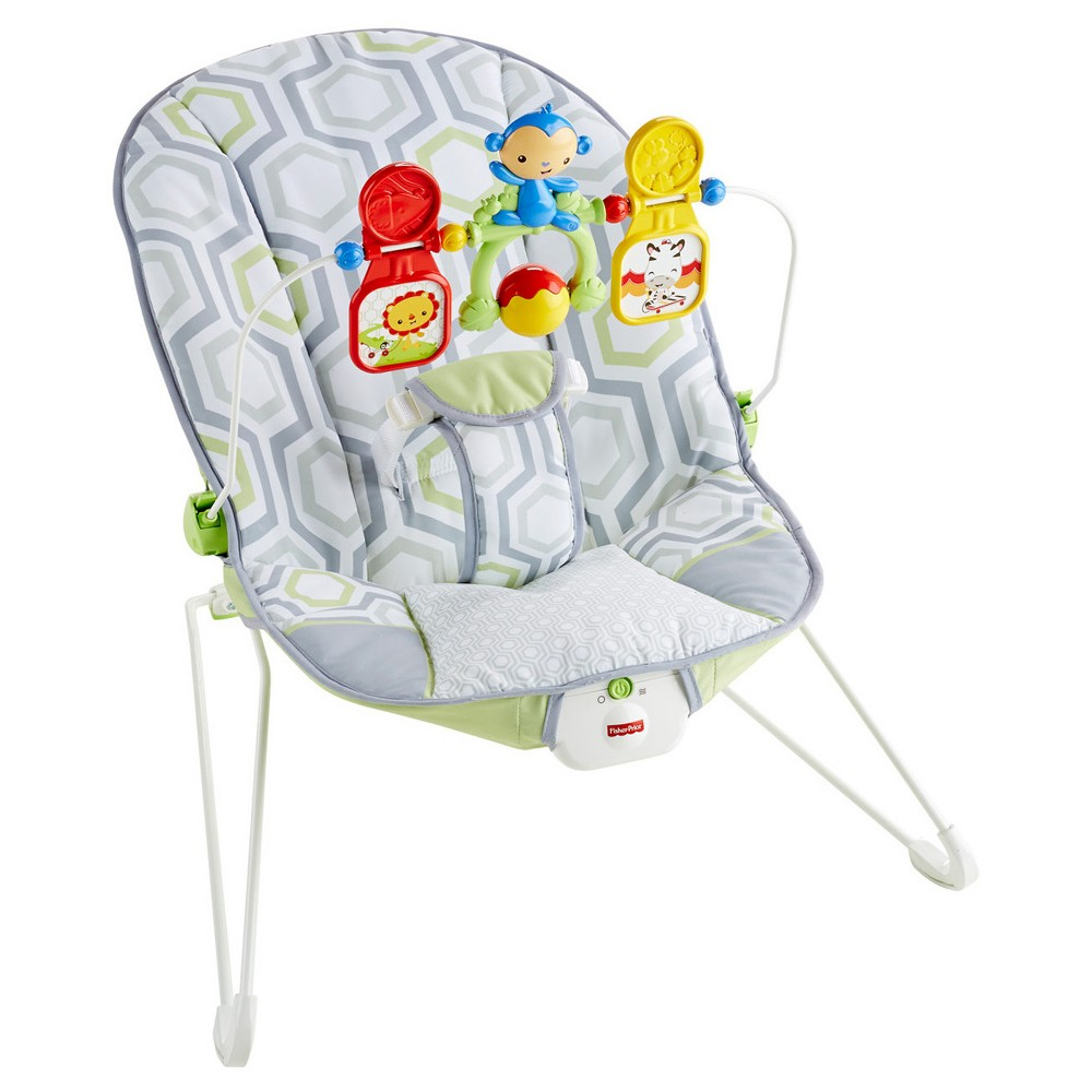a75783337 Fisher-Price Bouncer - Geometric Meadow