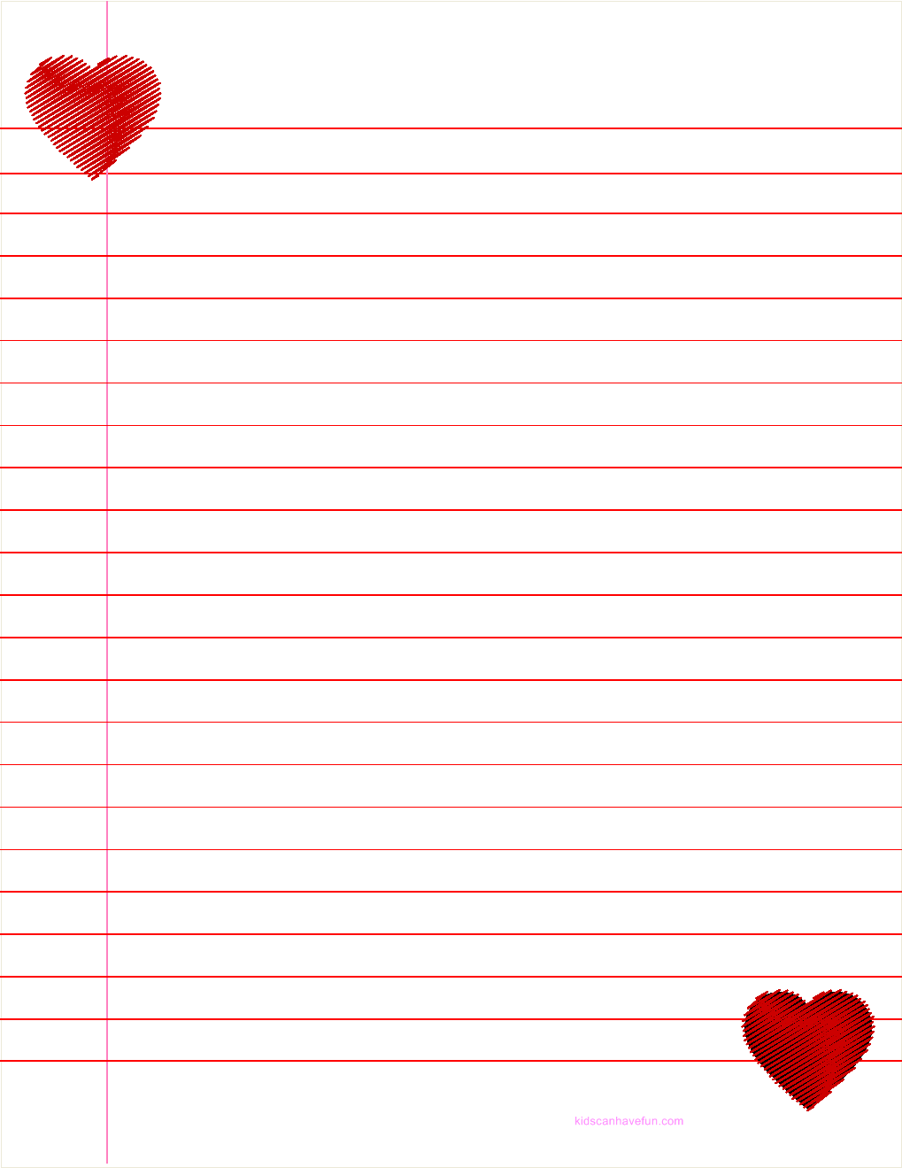 valentine u0027s day ruled paper hearts rules valentine heart and