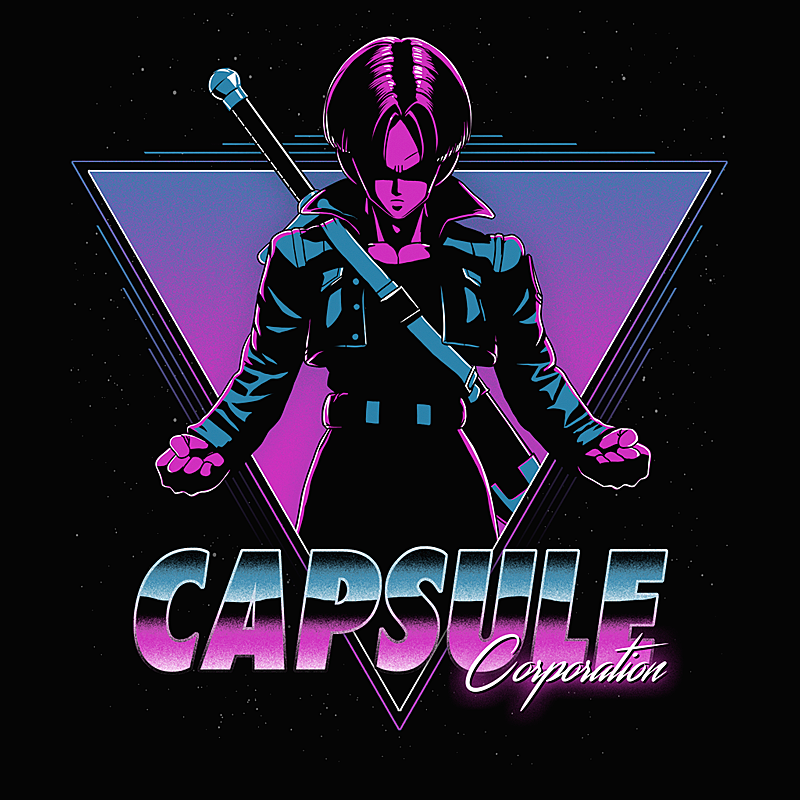 Capsule Corp from Wistitee | Day of the Shirt
