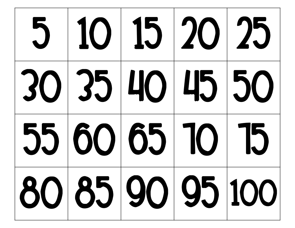 Counting By Fives Book & Worksheet.pdf