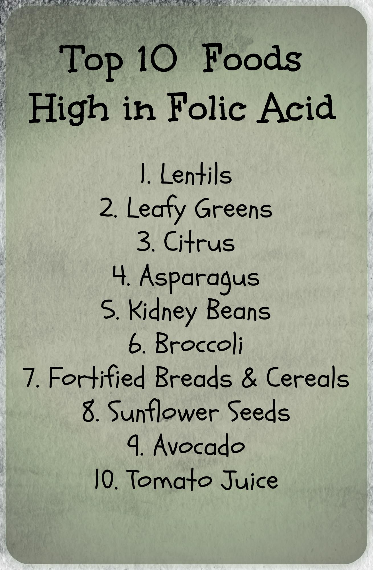 folic acid graviditet