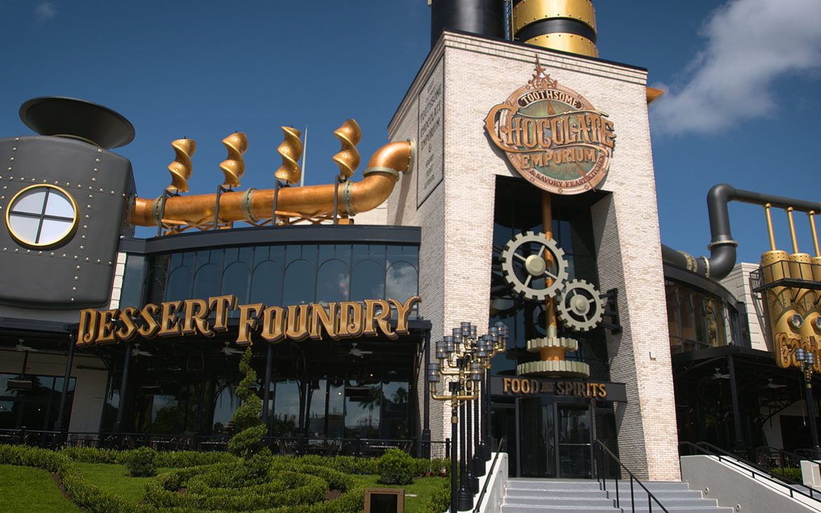 Toothsome Chocolate Emporium & Savory Feast Kitchen Universal CityWalk