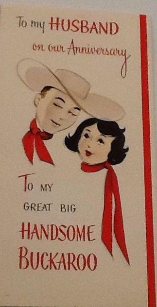 Vintage Anniversary Card Vintage Cards Vintage Greeting Cards Valentines Cards