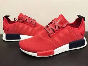 adidas originali nmd runner r1 scarpa da corsa rosso vivo cherry donne