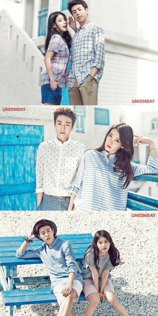 Korean Magazine Lovers (IU and Lee Hyun Woo - Unionbay S/S