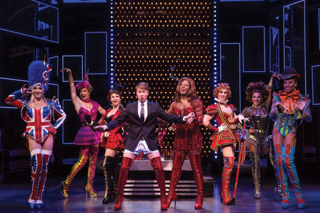These Boots are Made for Walkin' Harvey Fierstein and Cyndi Lauper's new musical Kinky Boots arrives, both heralded and unsung.
