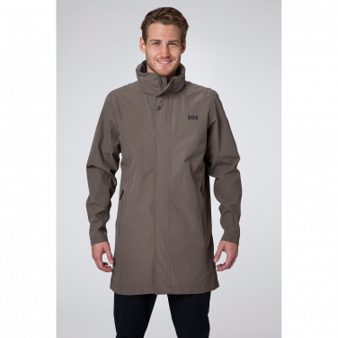 ROYAN COAT A versatile and lightweight rain jacket for men in a ...