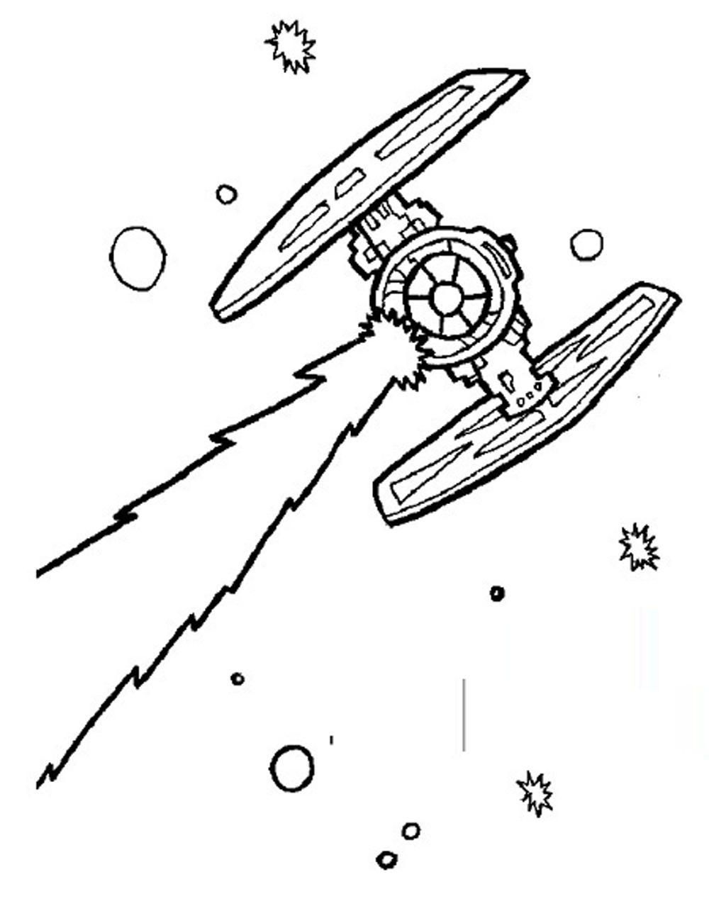 Lego Star Wars Ships Coloring Pages Malvorlagen Star Wars
