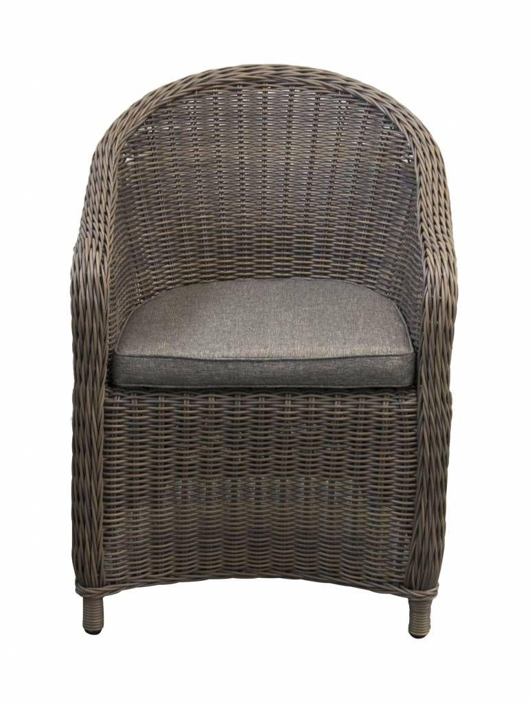 4 Seizoenen Tuinmeubelen.Rome Dining Tuinstoel Grey Tuin Plantenbak Tub Chair Chair En