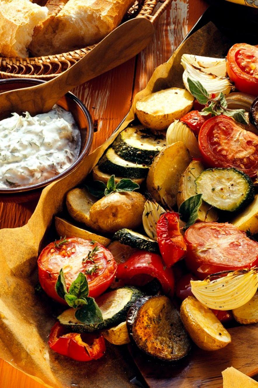 SCHNELLES ABENDESSEN: Mediterranes Ofengemüse | EAT SMARTER