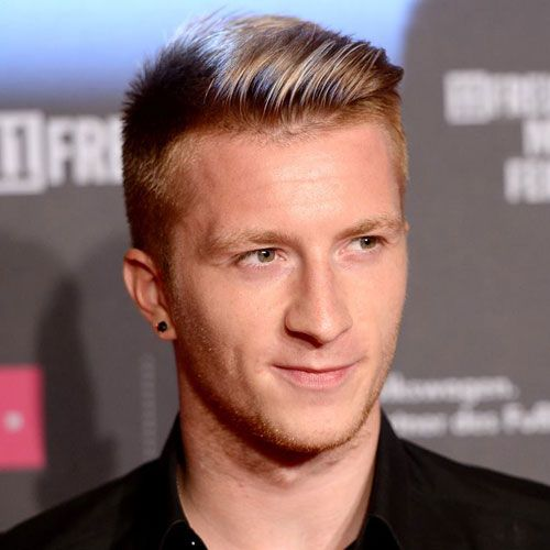 Marco Reus Haircut Pinterest Side Sweep Hair Side Swept And