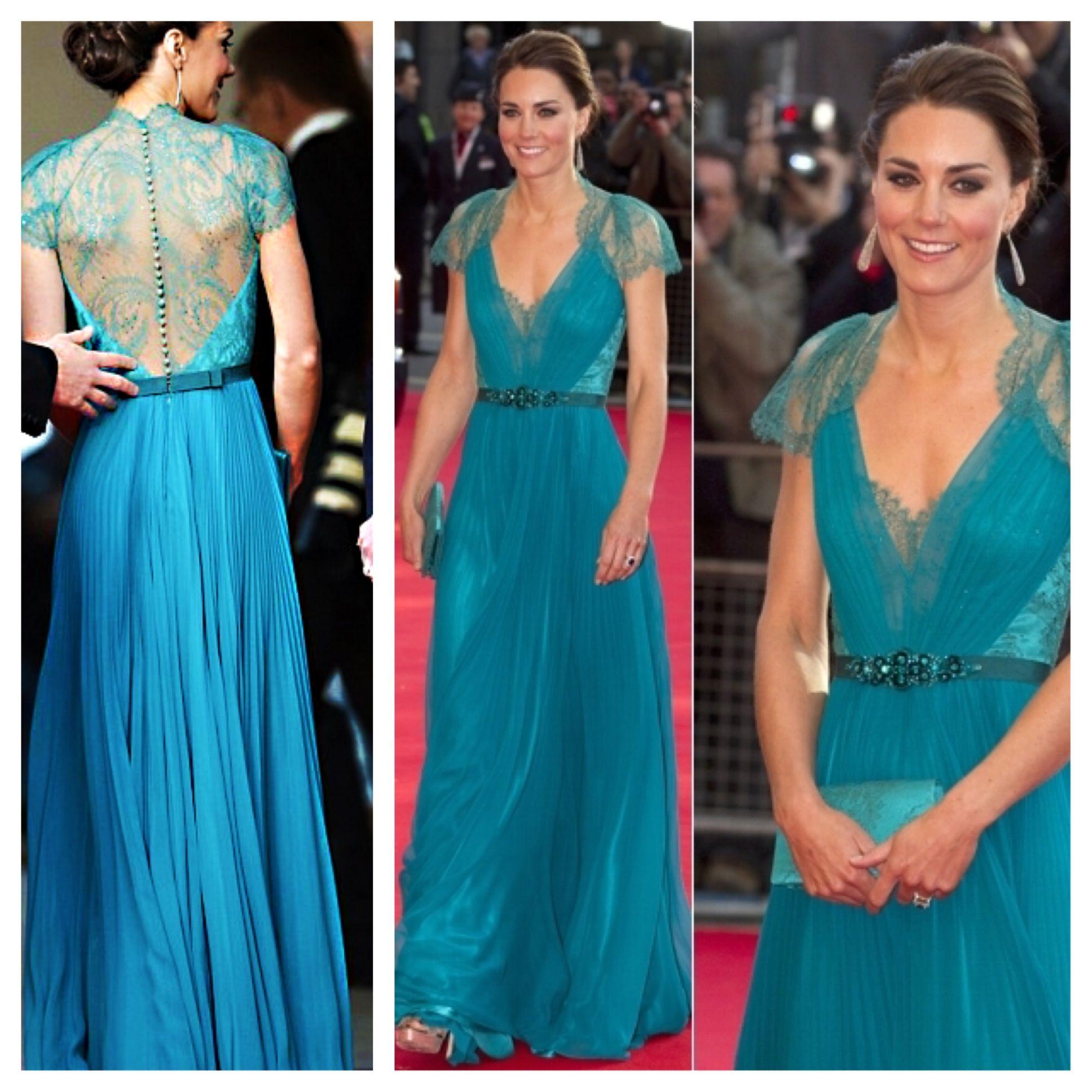 Princes Kate Middleton aqua dress | celeb style watch | Pinterest ...