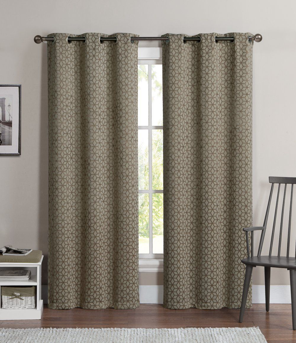 Robot Check Curtains Living Room Floral Curtains Curtains