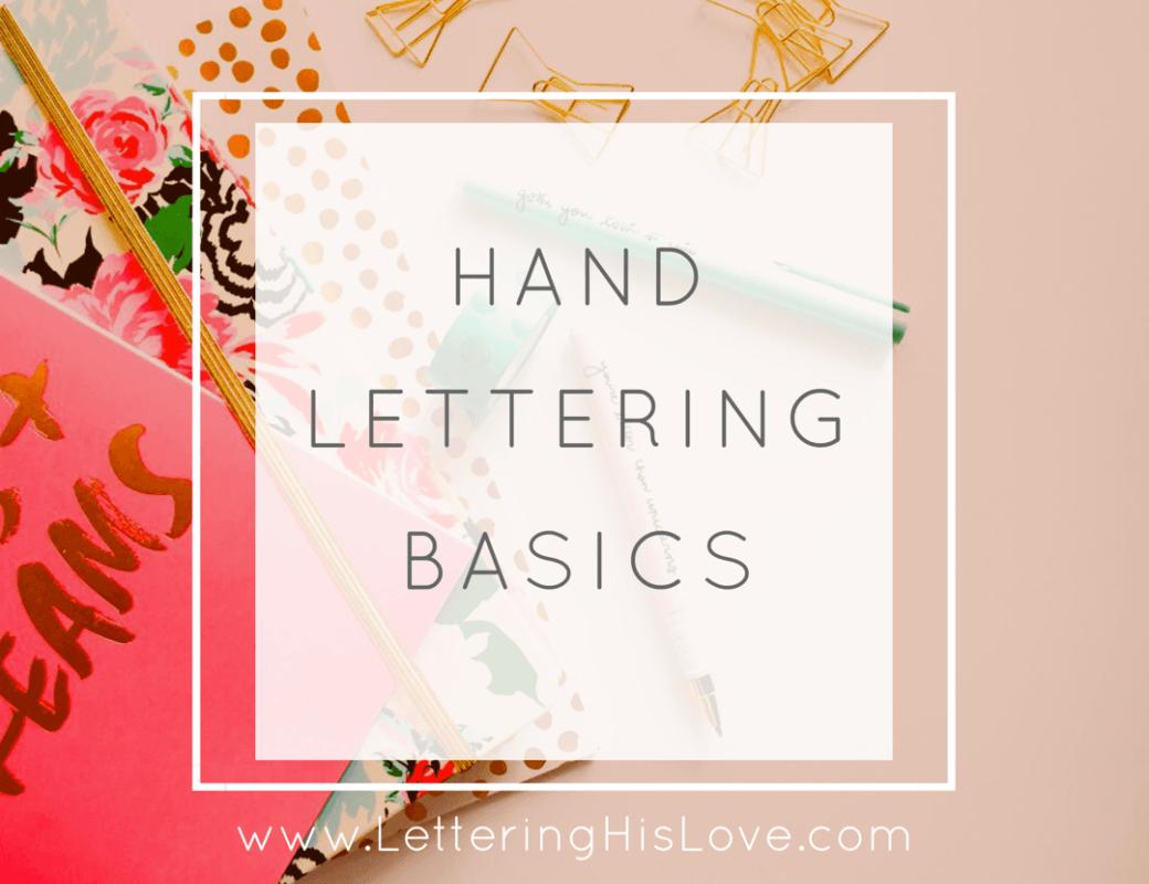 Encouragement Through Hand Lettering