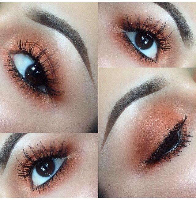 mac eyeshadows rule and amber lights mac pinterest