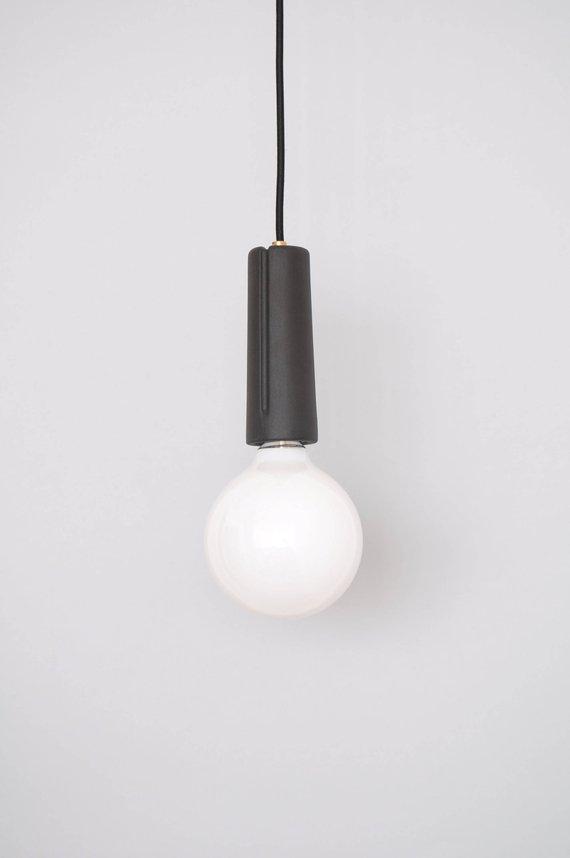 Light Fixture Hanging Lamp Minimal Ceramic Chandelier Ceiling
