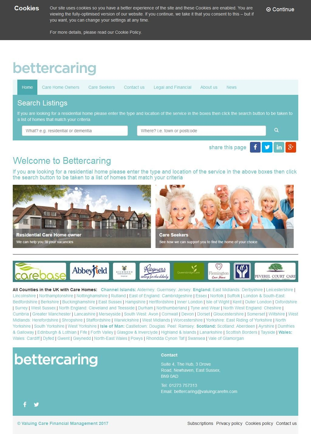 Bettercaring Ltd Residential Care Homes 10 Station Road