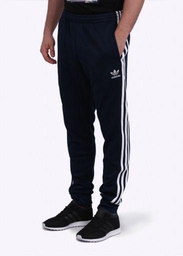 f2a6c78014bb Adidas Originals Apparel SST Cuffed Track Pants - Navy