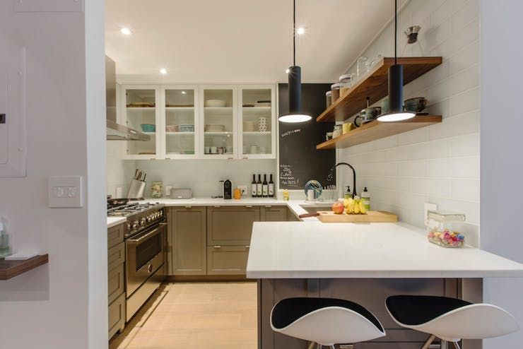 Before After New Life For A TeenyTiny Kitchen New Home Best Kitchen Remodeling Manhattan Decor Property