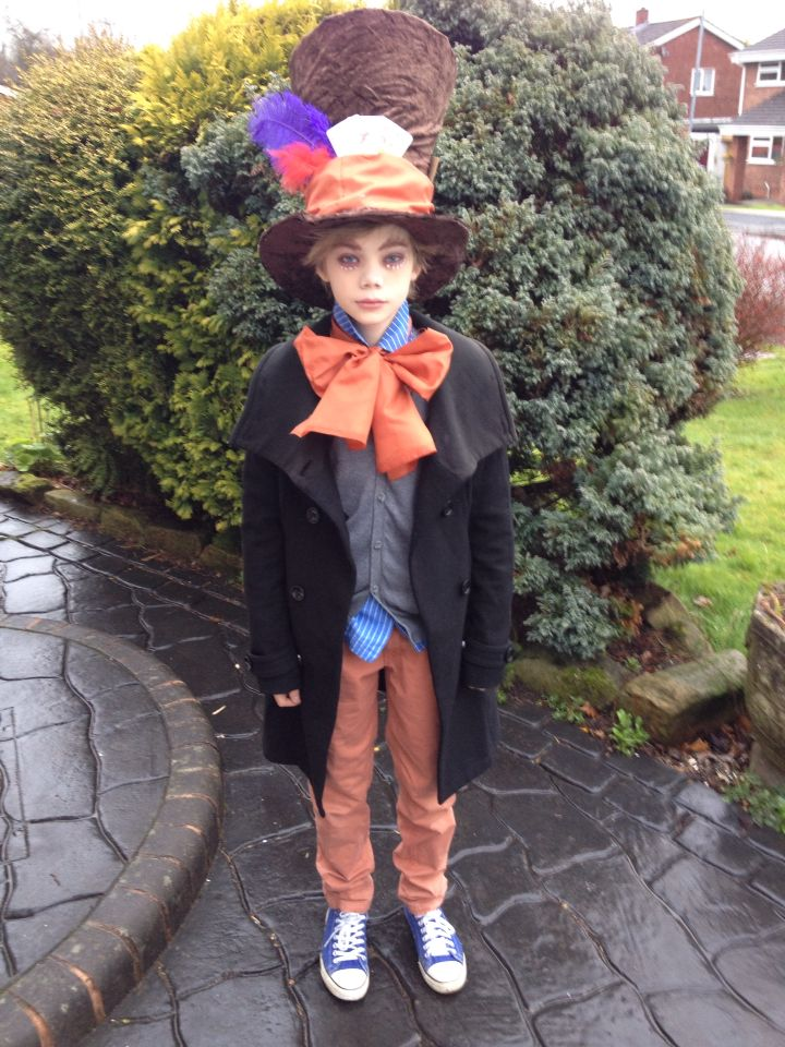 Mad hatter world book day outfit homemade party ideas mad hatter world book day outfit homemade homemade costumesfancy solutioingenieria Images