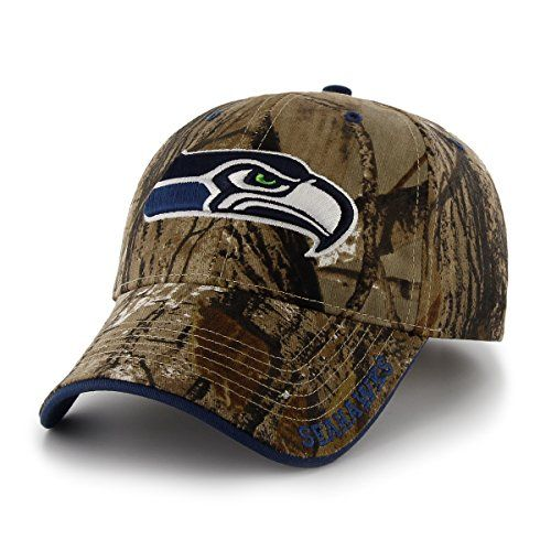 b718312f93a awesome NFL Seattle Seahawks  47 Frost MVP Camo Adjustable Hat