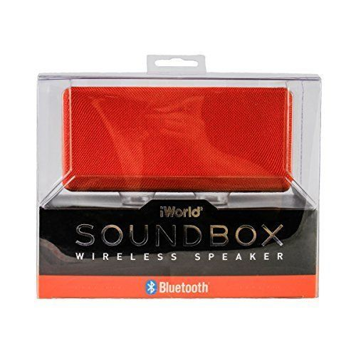Sound Box Wireless Speaker Red * Check out this great product.