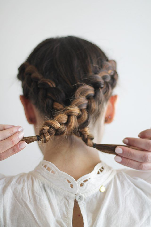 The Only Crown Braid Tutorial You Need With Images Braid Crown