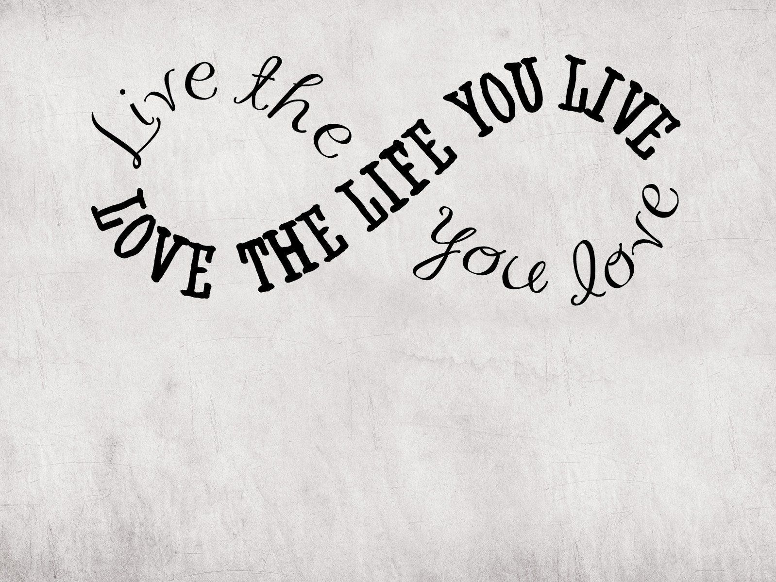 Live The Life You Love Quotable Cuff Bracelet With Images Love