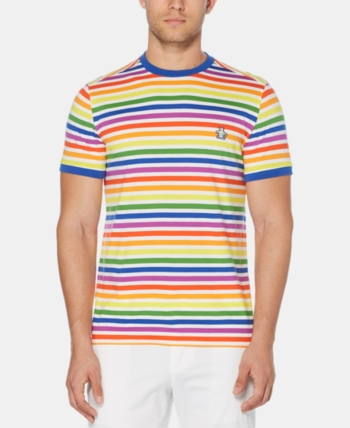 61565fd211 Men's Pride Rainbow Stripe T-Shirt in 2019 | Products | Rainbow ...