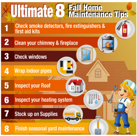 Some safety tips for fall! Good reminders! Home