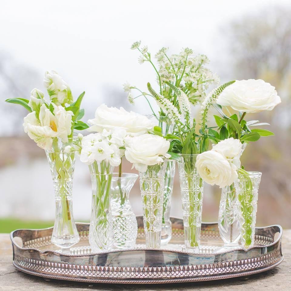 Glass Vases for Flowers Vases Centerpiece Vases for Wedding Vases Clear Glass Vase Set of Vases Bud Vases Wedding Decor Vases Vintage Vases
