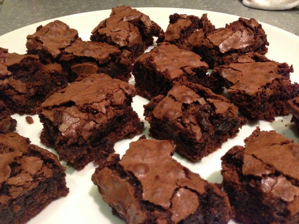 Brownie Com Nescau Receita Brownie Fudge Brownies Receitas