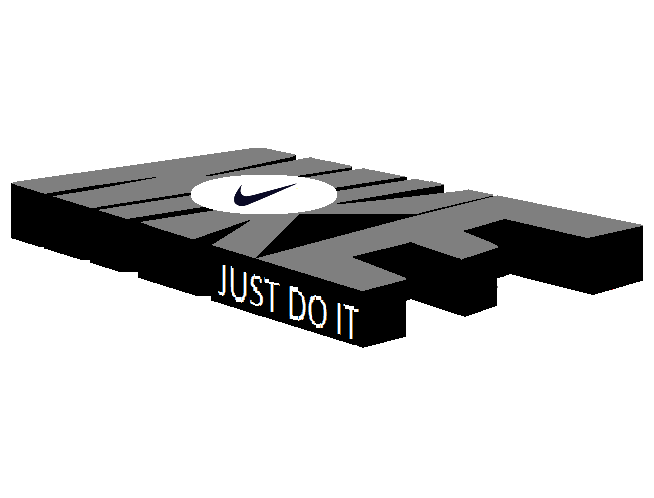 Nike ,logo, inside, Nike, word, new, design.