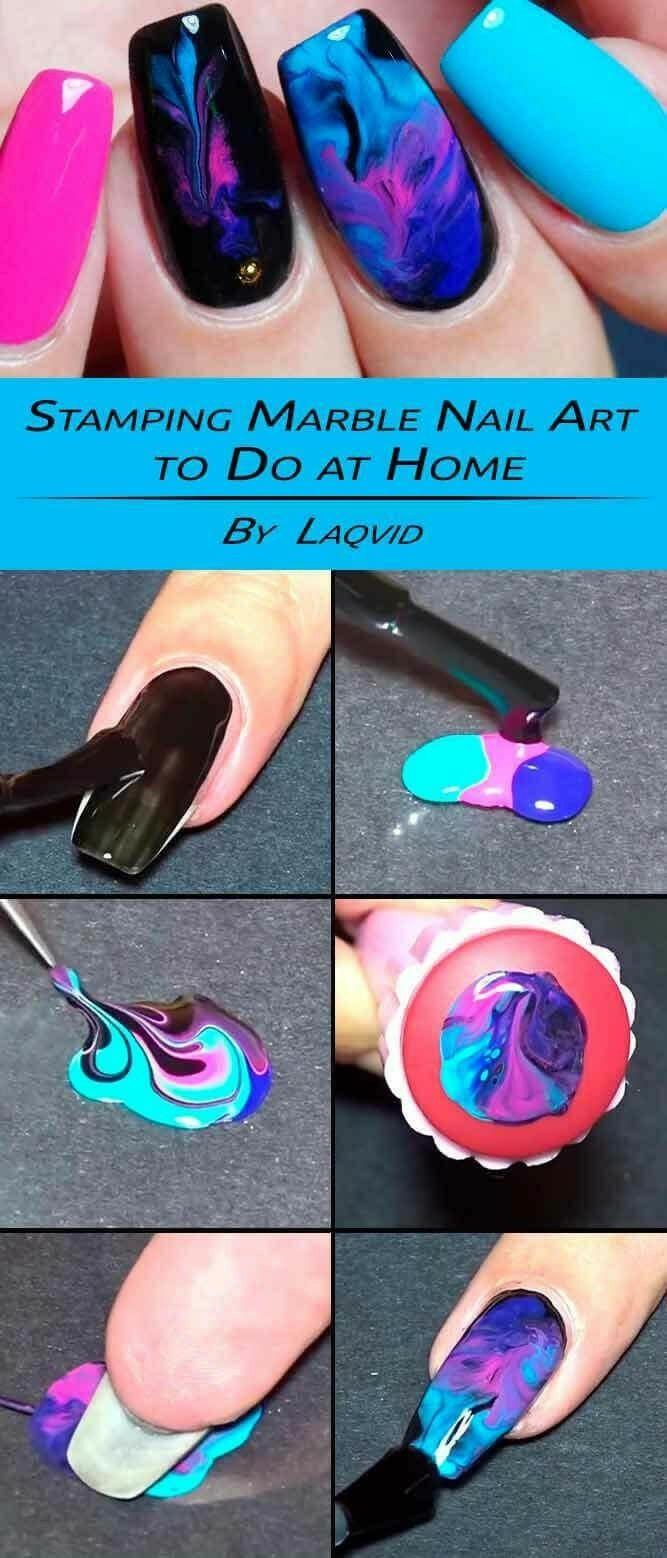 Pin van Leah op Lovely nails   Pinterest - Lak en Nagel