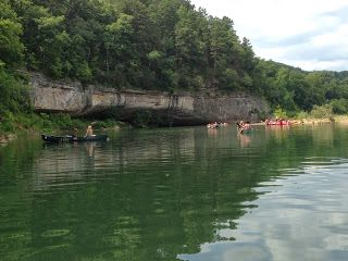 Buffalo River Float Trip  Some of my family and I did this over the July 4th weekend and had a great time! Springtime is best for floating but anytime there is good current it makes for a very enjoyable day. BransonVacationRentalCabins.com #buffaloriver   #floattrip #bransonmissouri   #rentalcabins