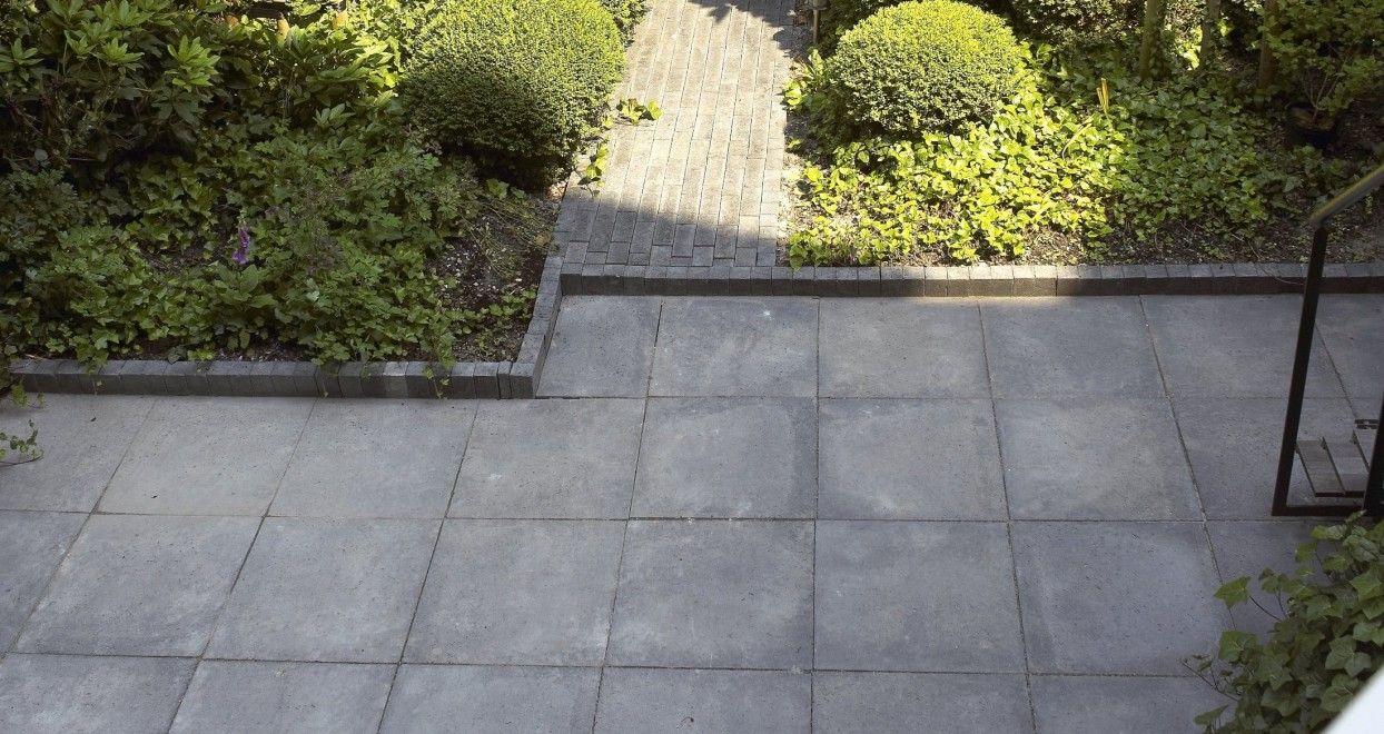 Antraciet Tegels 60x60 : Tegels schellevis 60x60 antraciet tuin pinterest garden
