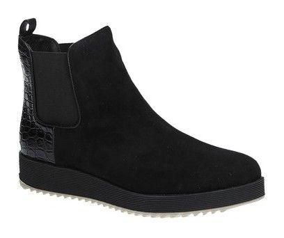 La Strada 806782 zwarte chelsea boots