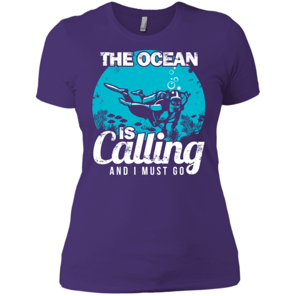 The Ocean Is Calling And I Must Go 2 V Neck Unisex Hoodies Mens Tops Shirts