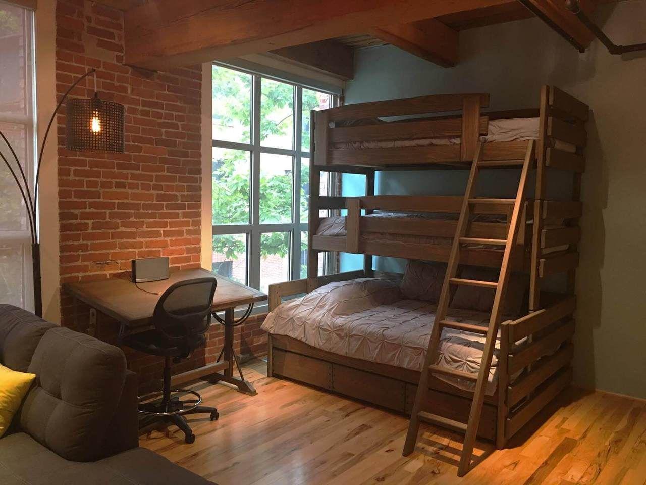 Columbus Bunk beds, Queen bunk beds, Triple bunk beds