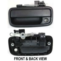 1995 2004 Toyota Tacoma Door Handle Replacement Front Driver Side Exterior Textured Black Plastic Oe Replacement 17 82