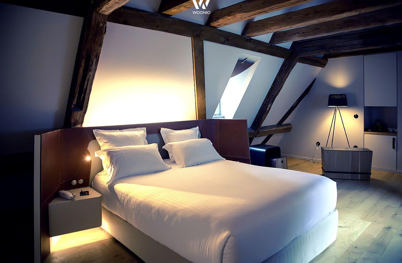 Indirektes Licht Gibt Dem Schlafzimmer Sein Gemütliches ... Bilder Von Licht Im Schlafzimmer