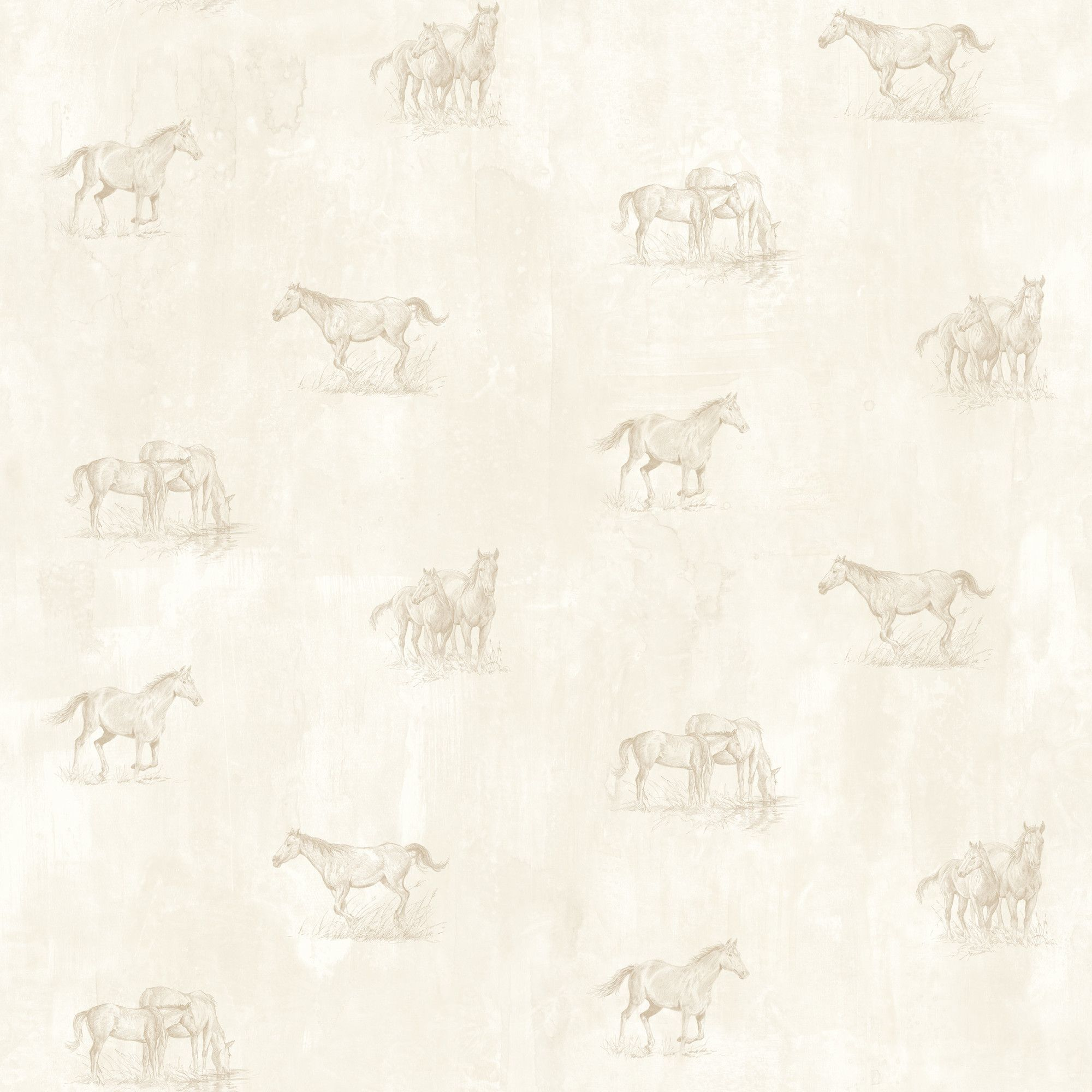 "Outdoors Doodles Sketch Toss 33' X 20.5"" Horse 3D Embossed"
