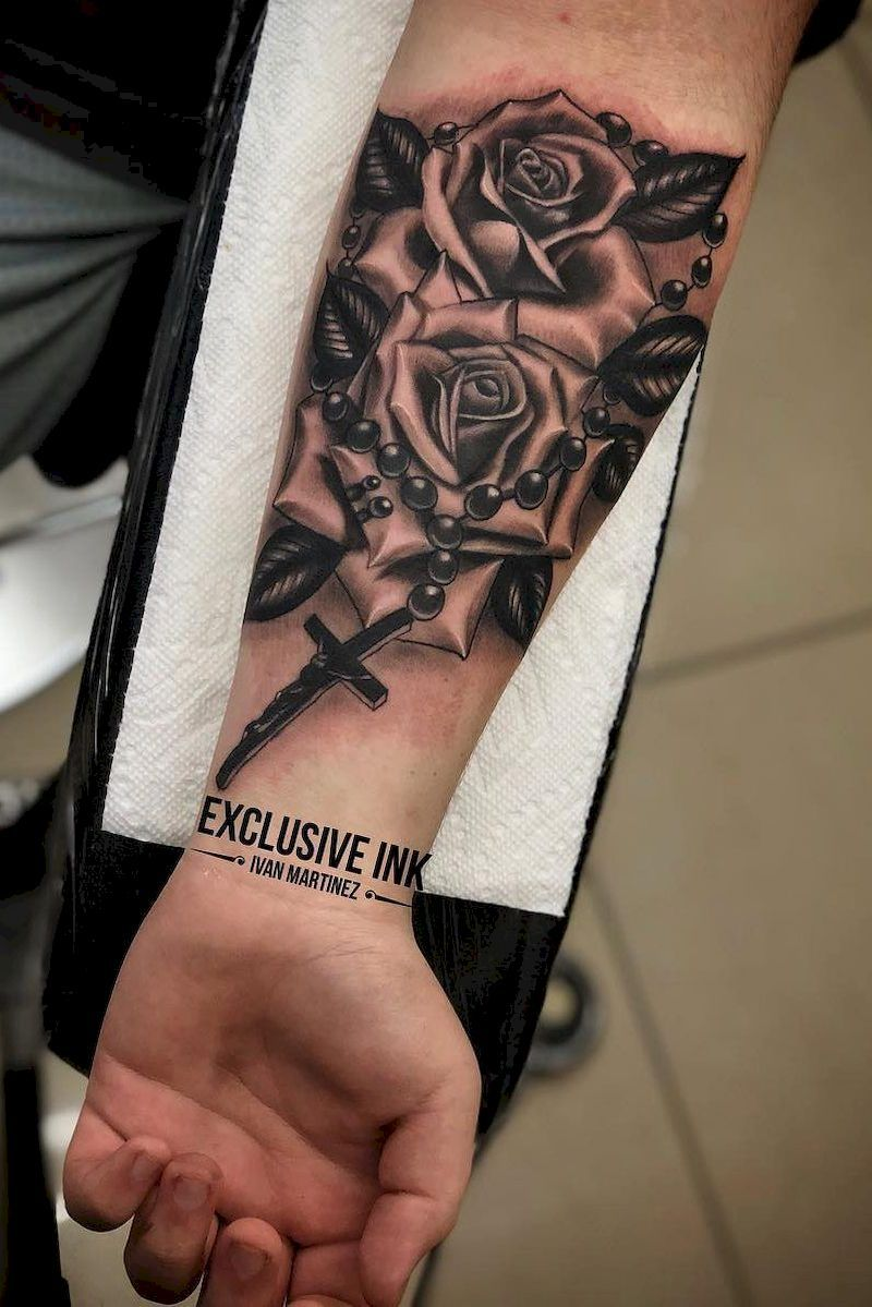 57 Most Popular Men Tattoo Design On 2019 Cool Forearm Tattoos Rose Tattoos For Men Tattoos For Guys