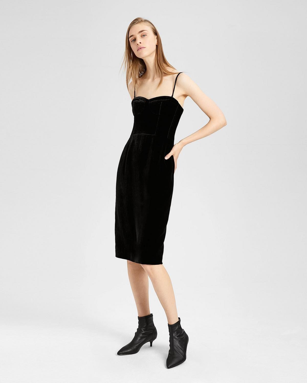 Velvet Corset Dress   Corset dress, Elegant maxi dress ...