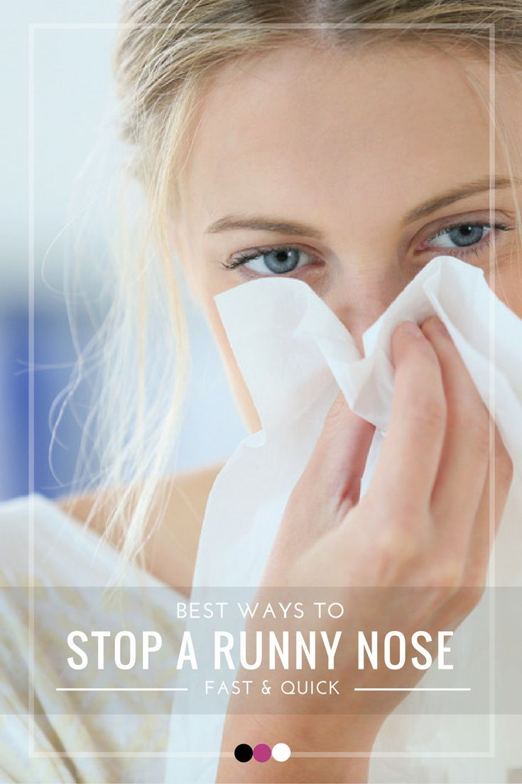 Discover how to stop a runny nose fast with these natural home remedies!