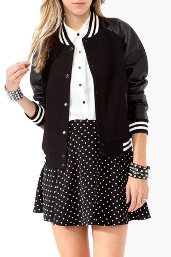 Varsity Jackets - Cute Outerwear