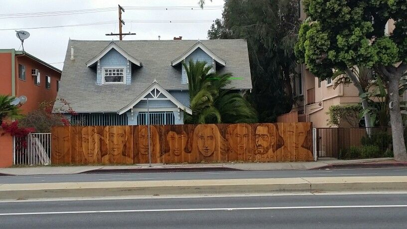 Famous Pyrotographer Zachary Aronson Zacharyaronson Piece On Venice Blvd Walgrove Ave In The Westside Mar Vista Venice California Los Angeles Neighborhoods