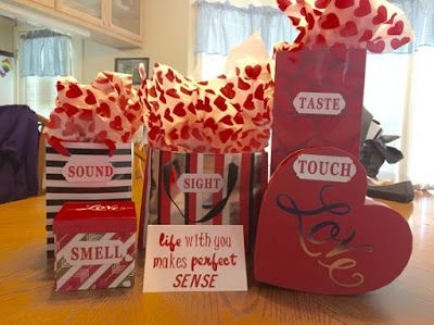 romantic valentines day five senses gifts ideas for him httpwwwfashioncluba